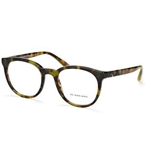 Burberry Eyeglasses Green/Havana w/Demo Lens